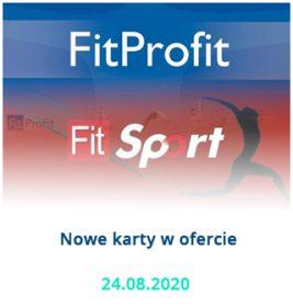 FitSport i FitProfit już w ofercie Parku Avia!