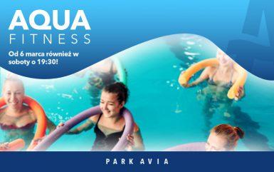 W marcu Aqua Fitness również w soboty!