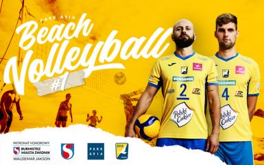 Turniej siatkówki plażowej PARK AVIA BEACH VOLLEYBALL#1 już 18-20 czerwca!