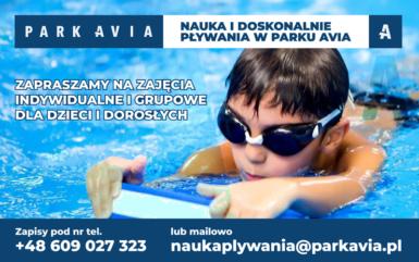 W Parku Avia nauczymy Cię pływać!